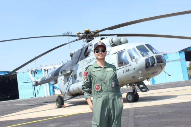 Bengaluru: Flight Lieutenant Hina Jaiswal is the first Indian woman flight engineer of the Indian Air Force(IAF). by .