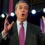 LONDON, Nov. 28, 2016 (Xinhua) -- Outgoing UKIP leader Nigel Farage makes a speech before congratulating newly elected Paul Nuttall on Nov. 28, 2016, in London, Britain. Member of European Parliament (MEP) Paul Nuttall was named Monday as the new leader of the United Kingdom Independence Party (UKIP), one of Britain's major political parties. (Xinhua/Ray Tang/IANS) by .