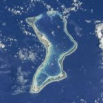 Diego Garcia island, which hosts a United States military base in the Indian Ocean. (Photo: NASA/IANS) by .