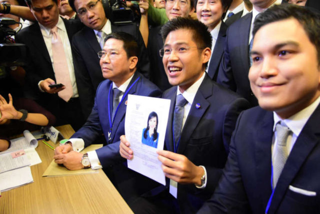 THAILAND-PRIME MINISTER-NOMINATION by .