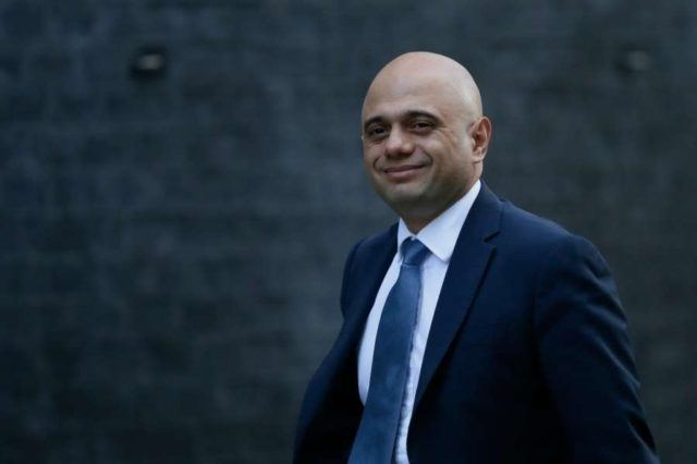 LONDON, Jan. 9, 2019 (Xinhua) -- Britain's Home Secretary Sajid Javid arrives for a cabinet meeting at 10 Downing Street in London, Britain on Jan. 8. 2019. British government confirmed Tuesday that a delayed parliamentary vote on the Brexit deal will take place on Jan. 15. (Xinhua/Tim Ireland/IANS) by .