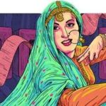 "Google doodled the star-crossed iconic character from ""Mughal-E-Azam"", Anarkali, made indelible in movie lovers' mind by the effervescent Madhubala who would have been 86 on Thursday by ."