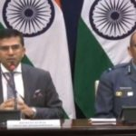 New Delhi: MEA spokesperson Raveesh Kumar and Air Vice Marshal RGK Kapoor address media in New Delhi on Feb 27, 2019. (Photo: IANS/PIB) by .