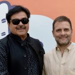 New Delhi: Rebel BJP leader Shatrughan Sinha meets Congress President Rahul Gandhi in New Delhi, on March 28, 2019. (Photo: IANS/AICC) by .