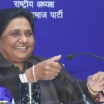 "Lucknow: BSP President Mayawati addresses at the release of her book ""A Travelogue of My Struggle-ridden Life and BSP Movement"" in Lucknow, on Jan 15, 2019. (Photo: IANS) by ."