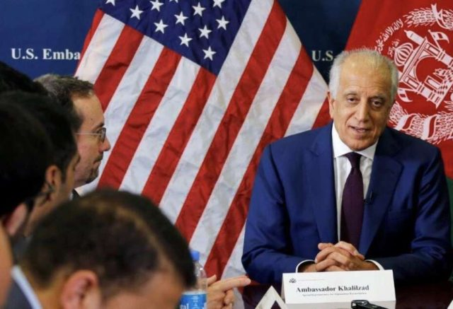 Zalmay Khalilzad. (Photo: Twitter/@US4AfghanPeace) by .