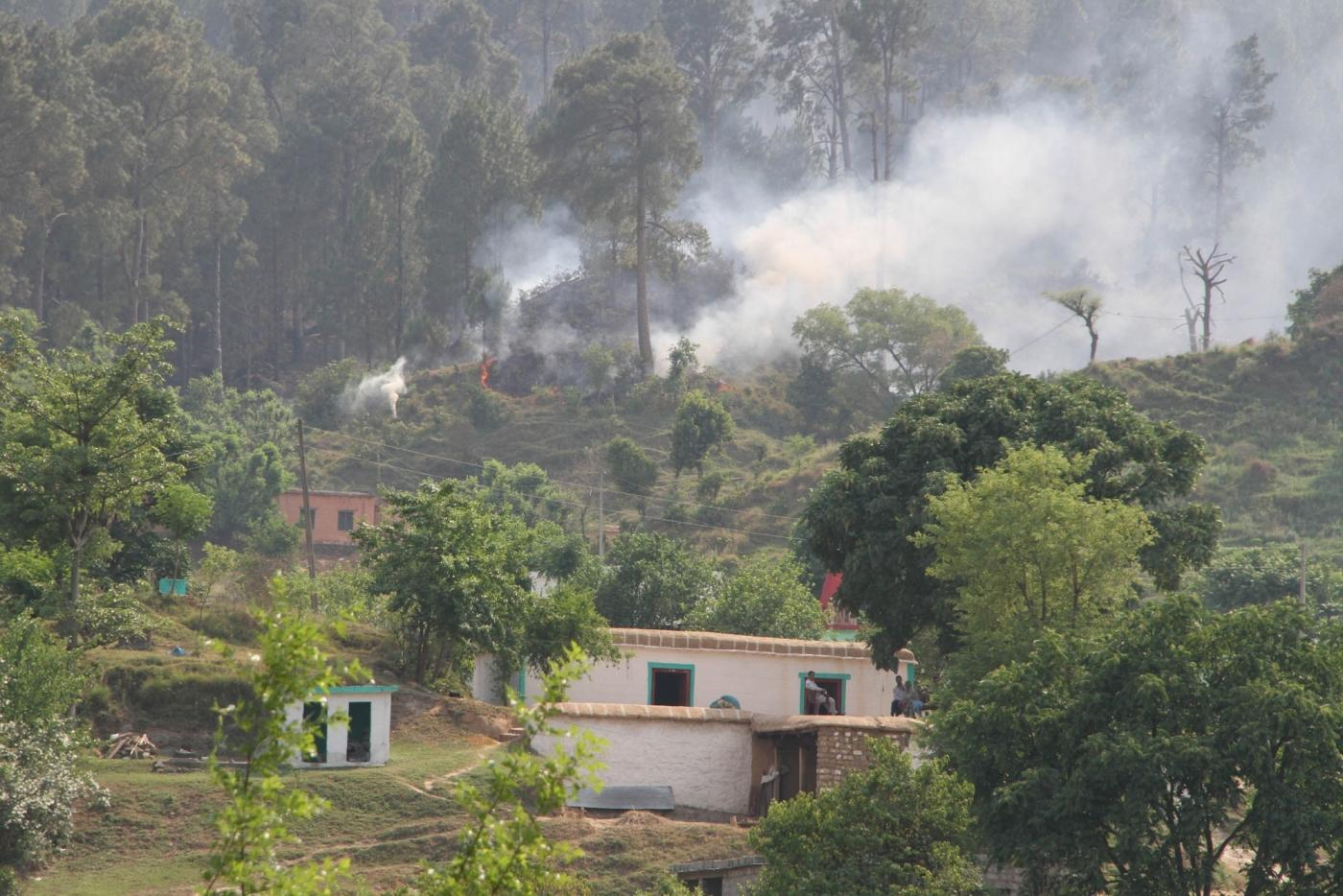 Cross border firing underway in Jammu and Kashmir's Nowshera sector of the LoC. (File Photo: IANS) by .