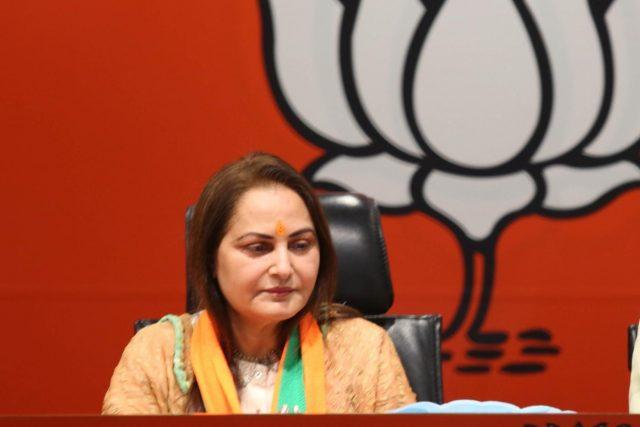 New Delhi: Actress-turned-politician Jaya Prada joins BJP in New Delhi, on March 26, 2019. (Photo: IANS) by .