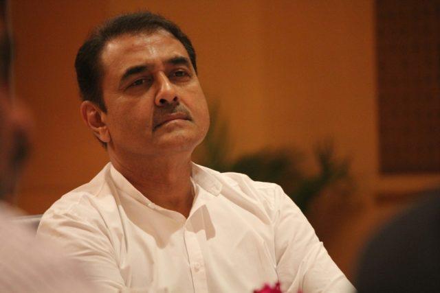Mumbai: All India Football Federation (AIFF) President Praful Patel during AIFF's Executive Committee Meeting, in Mumbai on July 22, 2018. (Photo: IANS) by .