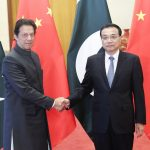 BEIJING, Nov. 3, 2018 (Xinhua) -- Chinese Premier Li Keqiang (R) holds talks with Pakistani Prime Minister Imran Khan, who is paying an official visit to China, at the Great Hall of the People in Beijing, capital of China, Nov. 3, 2018. (Xinhua/Pang Xinglei/IANS) by .