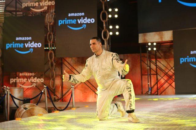 Mumbai: Actor Akshay Kumar during the digital debut of his upcoming action-packed thriller series