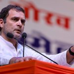 New Delhi: Congress President Rahul Gandhi addresses party workers at Indira Gandhi Stadium, in New Delhi, on March 11, 2019. (Photo: IANS/AICC) by .