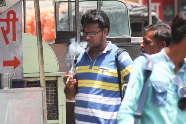 Smoking. (Photo: IANS) by .