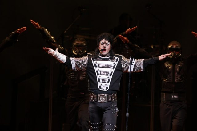 Michael Firestone, who has gained popularity for impersonating Michael Jackson across the world with his live shows. by .
