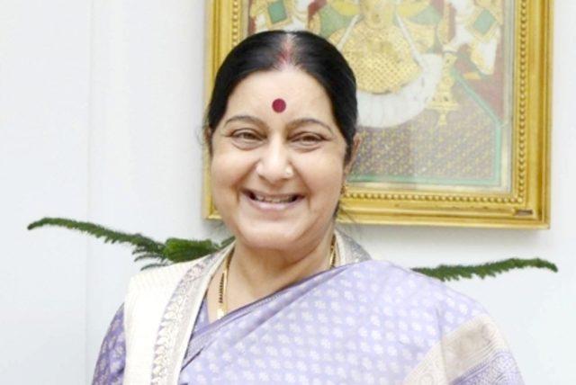 Sushma Swaraj. (File Photo: IANS) by .