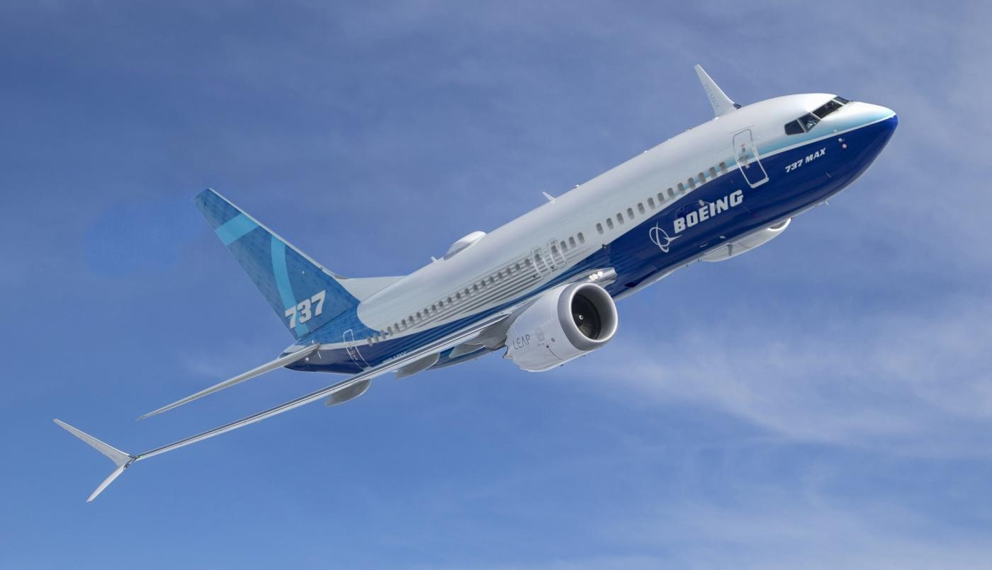 Boeing 737-MAX. (File Photo: Boeing) by .