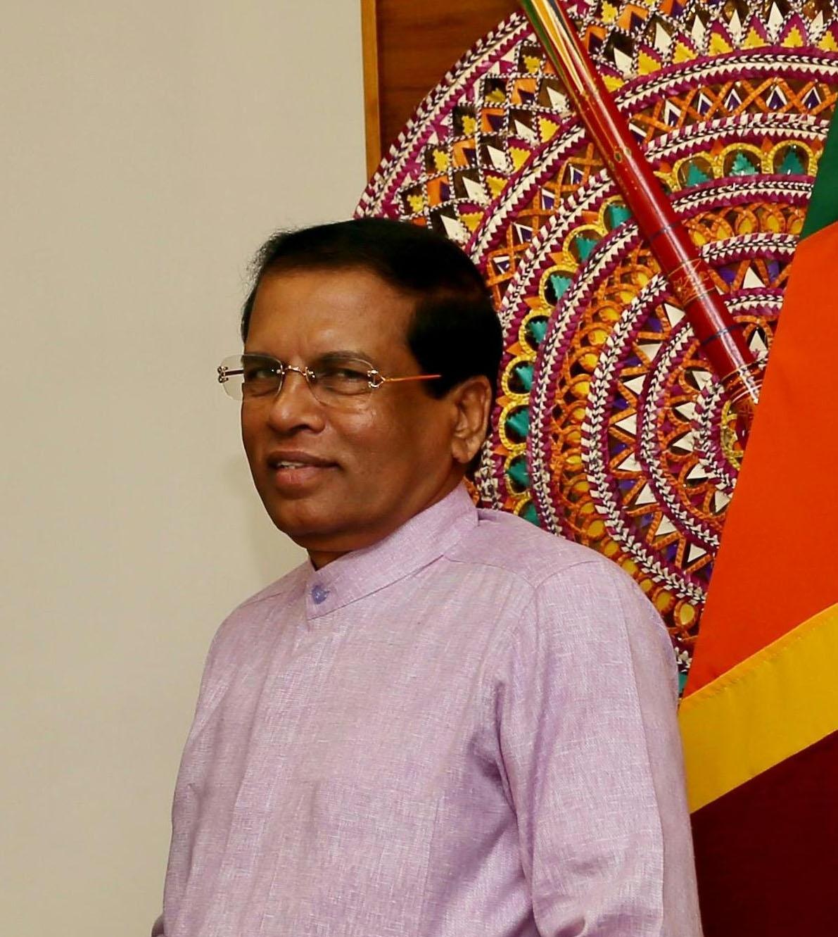 President of Sri Lanka Maithripala Sirisena. (File Photo: IANS) by .