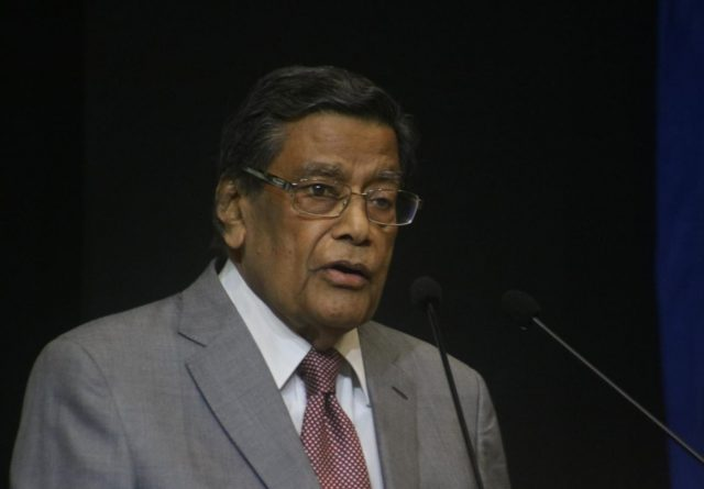 New Delhi: Attorney General of India K K Venugopal addresses at the launch of the book