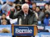 NEW YORK, March 2, 2019 (Xinhua) -- U.S. Senator Bernie Sanders speaks during his first presidential campaign rally in Brooklyn College, New York, the United States, March 2, 2019. U.S. Senator Bernie Sanders kicked off his 2020 presidential campaign as a second-time runner on Saturday in his hometown borough of Brooklyn, New York, reiterating his Democratic socialist views that have been reshaping the Democratic Party. (Xinhua/Li Muzi/IANS) by .