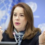President of the United Nations General Assembly Maria Fernanda Espinosa (Photo: UN/IANS) by .