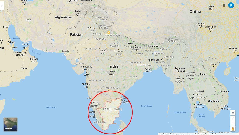 Tamil Nadu, India. by .