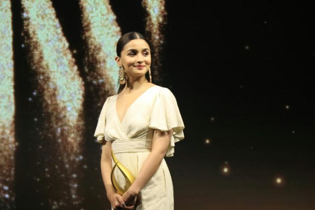 Mumbai: Actress Alia Bhatt at the fourth edition of Outlook Business magazine's 'Women of Worth' awards in Mumbai, on March 6, 2019. (Photo: IANS) by .