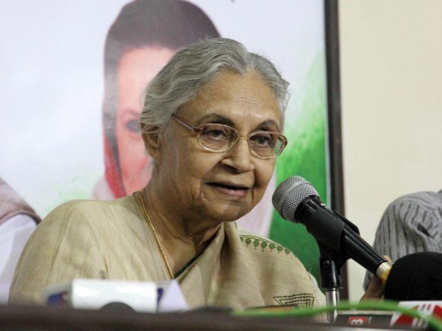 Congress leader Sheila Dikshit. (File Photo: IANS) by .