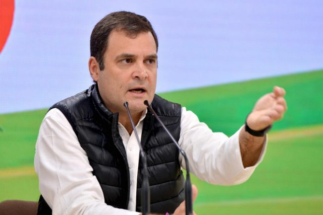 Congress President Rahul Gandhi.(File Photo: IANS)I by .
