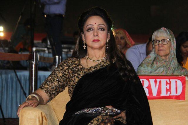 Mumbai: Actress-politician Hema Malini at launch of a book in Mumbai on Jan 14, 2018. (Photo: IANS) by .