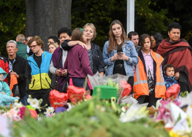 NEW ZEALAND-CHRISTCHURCH-MOURNING by .