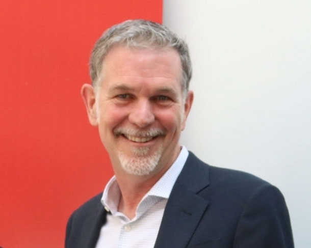 Netflix CEO Reed Hastings by .