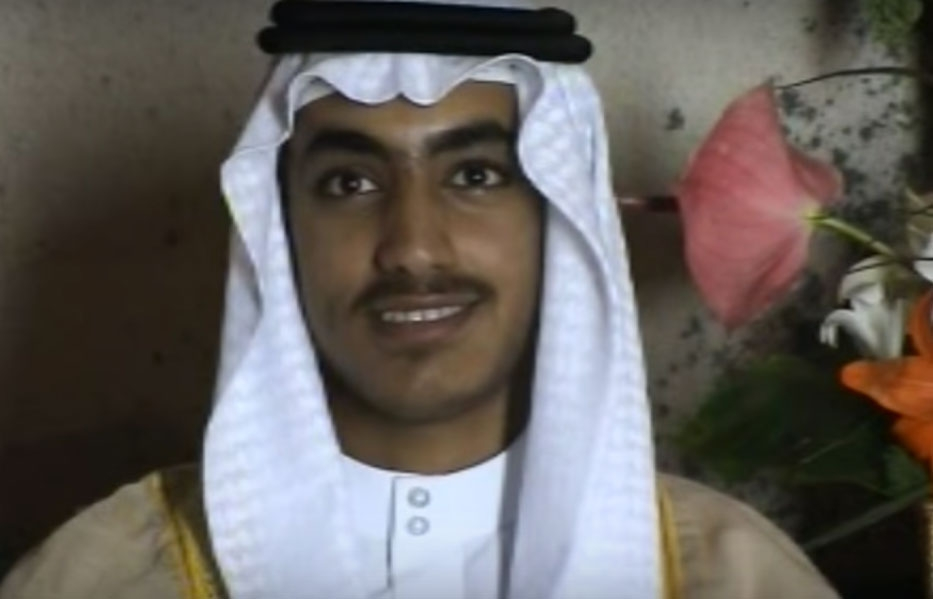 Al-Qaida leader Hamza bin Laden, the son of Osama bin Laden, is reported to be in the Afghanistan-Pakistan border areas, according to a United Nations report. He is seen in a screen shot from a video released by the United States Central Intelligence Agency last year. (Photo: CIA video screen grab) by .
