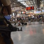 Mumbai: Security beefed up at CST Railway Station on 8th anniversary of 26/11 Mumbai terror attacks in Mumbai on Nov 26, 2016. (Photo: IANS) by .