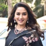 "Mumbai: Actress Madhuri Dixit at the teaser launch of their upcoming film ""Kalank"" in Mumbai, on March 12, 2019. (Photo: IANS) by ."