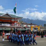 Tawang (Arunachal Pradesh): Republic Day Parade underway in Tawang, Arunachal Pradesh on Jan 26, 2019. (Photo: IANS) by .