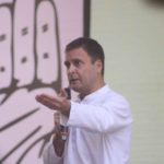 New Delhi: Congress President Rahul Gandhi addresses at the launch of party's election manifesto for the 2019 Lok Sabha polls, in New Delhi on April 2, 2019. (Photo: IANS) by .