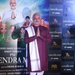 """Mumbai: Actor Vivek Oberoi dressed up as Prime Minister Narendra Modi at the trailer launch of his upcoming film """"PM Narendra Modi"""" in Mumbai, on March 20, 2019. (Photo: IANS) by ."""