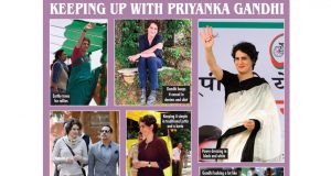 Caption: Keeping up with Priyanka Gandhi. (IANS Infographics) by .