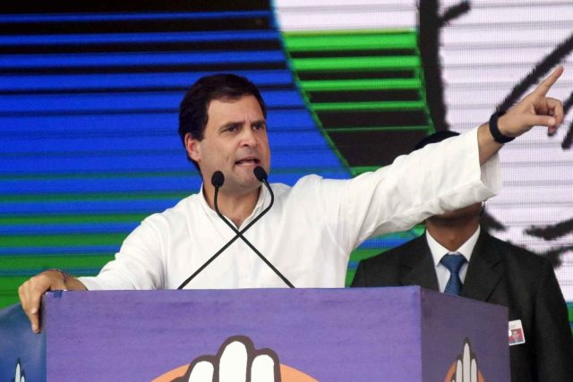 Congress President Rahul Gandhi. (File Photo: IANS) by .