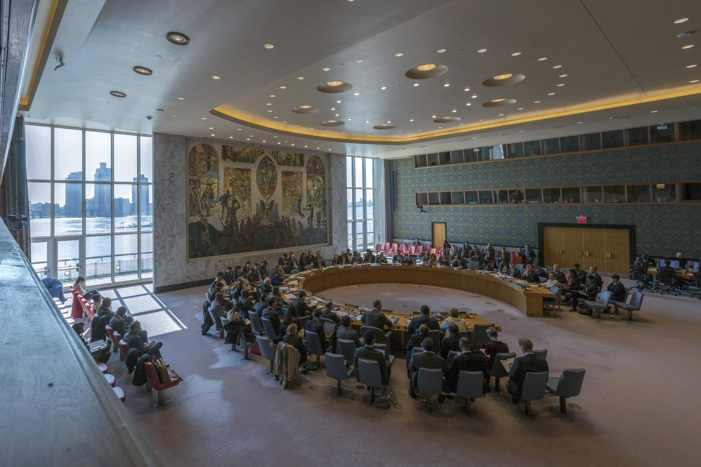 UN-SECURITY COUNCIL-DRAPES-HOURGLASS-CHANGES by .