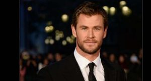 Actor Chris Hemsworth by .