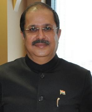Indian ambassador to Saudi Arabia Dr Ausaf Sayeed. by .