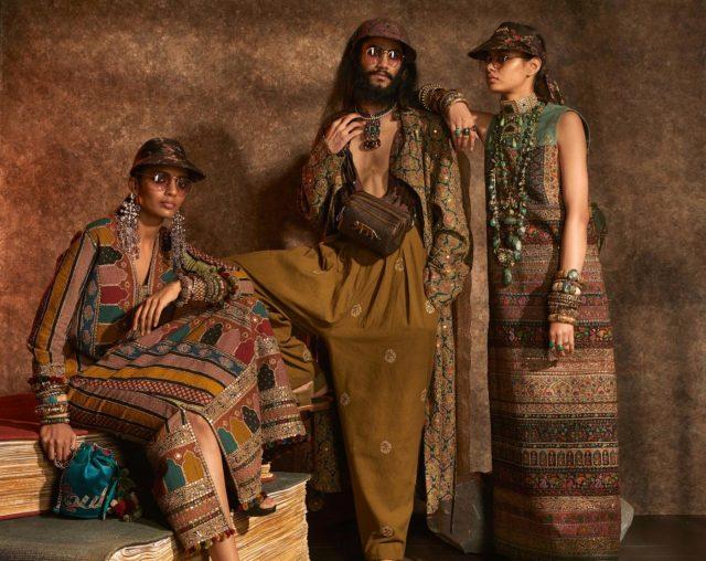 New Delhi: Models showcase
