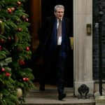 LONDON, Dec. 18, 2018 (Xinhua) -- Britain's Education Secretary Damian Hinds leaves 10 Downing Street after a cabinet meeting in London, Britain, Dec. 18, 2018. British Prime Minister Theresa May announced in the House of Commons Monday that Members of Parliament (MPs) will vote on her Brexit deal in mid-January. May said senior ministers will meet Tuesday at Downing Street to discuss preparations in the event of no deal being agreed. (Xinhua/Tim Ireland/IANS) by .