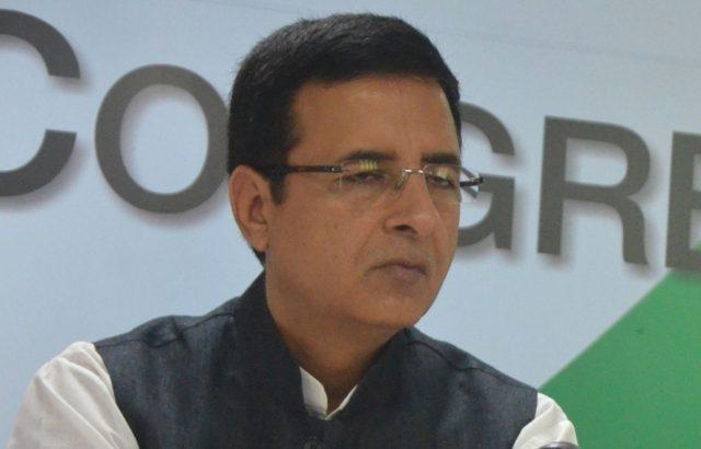 Randeep Surjewala. (File Photo: IANS) by .