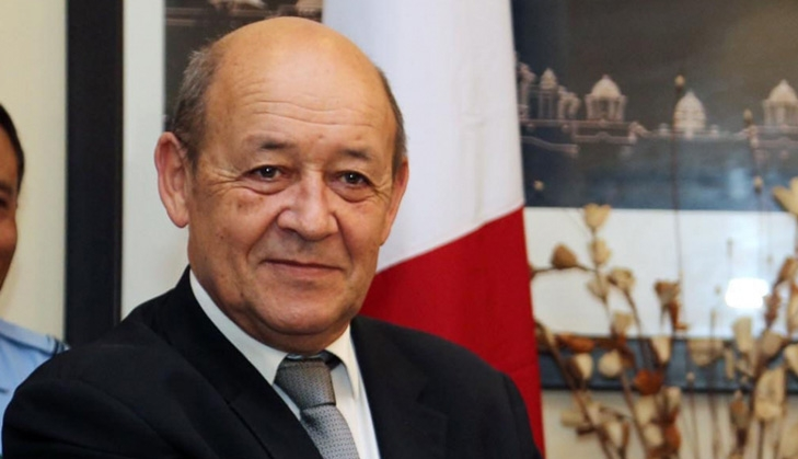 French Foreign Minister Jean-Yves Le Drian. (File Photo: IANS) by .