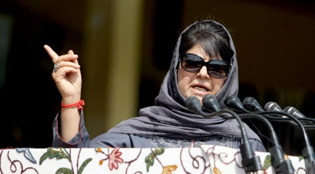 Jammu and Kashmir Chief Minister Mehbooba Mufti. (File Photo: IANS) by .