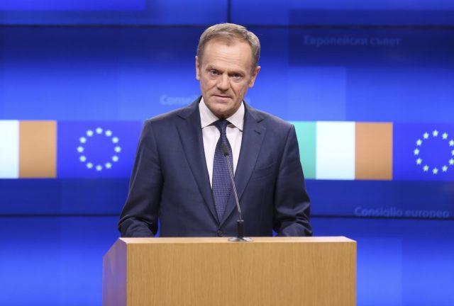 BELGIUM-BRUSSELS-EU-IRISH PM-VISIT by Ye Pingfan.