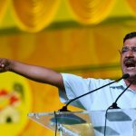 Visakhapatnam: Delhi Chief Minister and Aam Aadmi Party chief Arvind Kejriwal addresses during a Telugu Desam Party's rally in Visakhapatnam on March 31, 2019. (Photo: IANS) by .