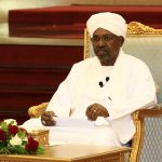 KHARTOUM, April 5, 2019 (Xinhua) -- Sudanese President Omar al-Bashir addresses the Higher Coordinating Committee for Following-up Implementation of the National Dialogue Outcome, in Khartoum, Sudan, April 5, 2019. Sudanese President Omar al-Bashir on Friday said elections is the only means to reach power. (Xinhua/Mohamed Khidi/IANS) by .